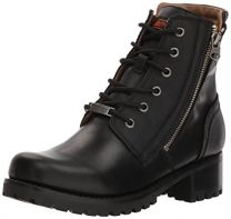 Harley-Davidson Women's Asher 5.5-Inch Black Leather Motorcycle Boots D84250