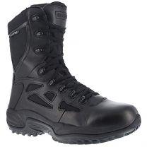"Reebok Women's Rapid Response 8"" Work Boot Round Toe - Rb877"