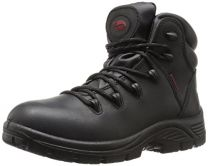 Avenger Safety Footwear Men's 7623 Leather Waterproof Soft Toe EH Work Boot Industrial and Construction Shoe
