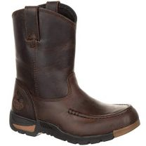 Georgia Boot Athens Little Kids' Pull-On Boot Brown