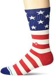 Stance mens Crew Sock the Fourth St Crew