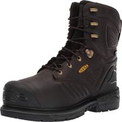 KEEN Utility Men's CSA Philadelphia 8? Composite Toe Waterproof Metatarsal Guard Work Boots Industrial