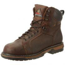 """Rocky FQ0005703 6"""" LTT IronCL Cppr MEDIUM 8 Work Boots Copper"""