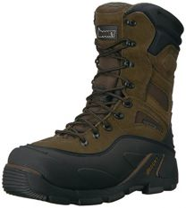 """Rocky FQ0007465 Men's BRN 9"""" RWP ST Men'sS WHOLE 8 Work Boots Brown"""