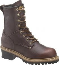 Carolina Boots: Women's Welted 8 Inch Logger Work Boots CA421