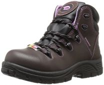 Avenger Women's 7123 Leather Waterproof Puncture Resistant Comp Toe EH SR Work Boot Industrial and Construction Shoe