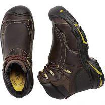 "Keen Utility Men's Mt. Vernon 6"" Steel Toe Metatarsal Guard Work Boot"