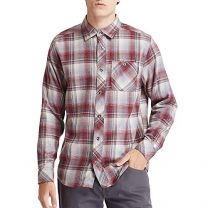 Timberland PRO Men's Woodfort Mid-Weight Flannel Work Shirt