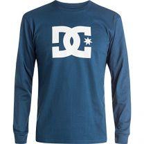 DC Men's Star Long Sleeve Logo Tee Shirt