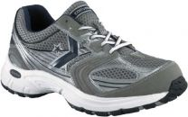 Converse Shoes: Men's Gray and Silver Cross Training Athletic Shoes C1496
