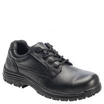 Avenger 7117 Men's Slip Resistant Oxford Work Shoes Composite Toe Black