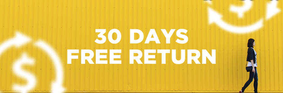 30 Days Free Return