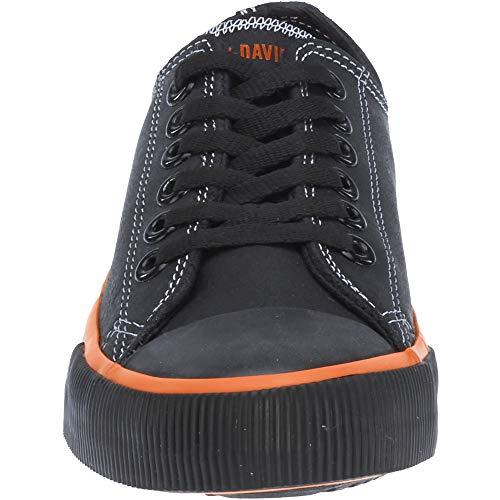 Harley-Davidson Wouomo Zia Zia Zia Vulcanized scarpe Coloreeee nero 2925a4