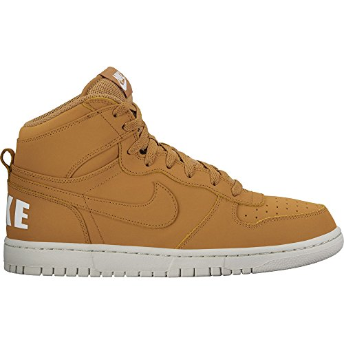 NIKE BIG NIKE HIGH WHEAT/WHEAT-LIGHT BONE-WHITE  - FOOTWEAR||KID'S