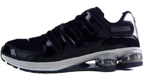 NIKE Lunar Air Shox NZ Men's Running shoes color BLACK