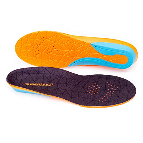 Unisex Comfort Insoles for Athletic Shoe Cushion and Support F Superfeet FLEX