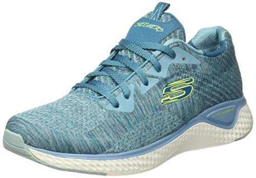 Low-Top Trainers Color BLUE