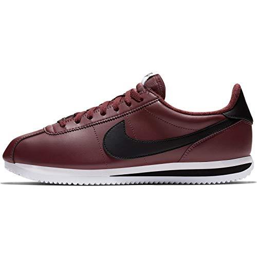 fbc7a1186f40 NIKE Men s Cortez Basic Leather Casual Shoe Color BURGUNDY CRUSH ...