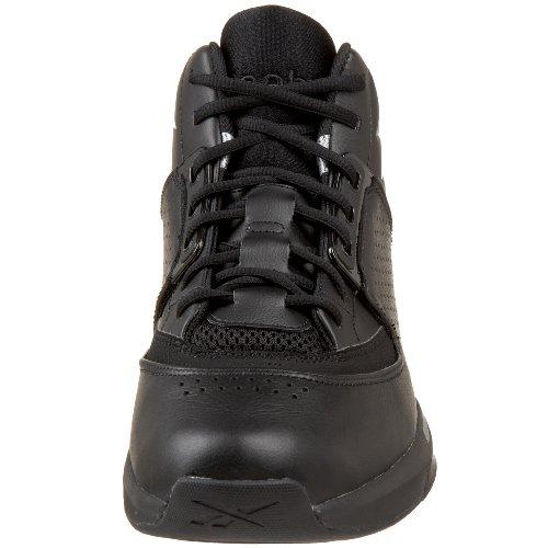 Reebok para Hombre Hombre Hombre Oficial talón Hex Baloncesto Zapato Color Negro II plata e001d8