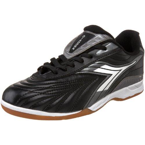 Diadora Furia Indoor Soccer Shoe  Color BLACK/WHITE